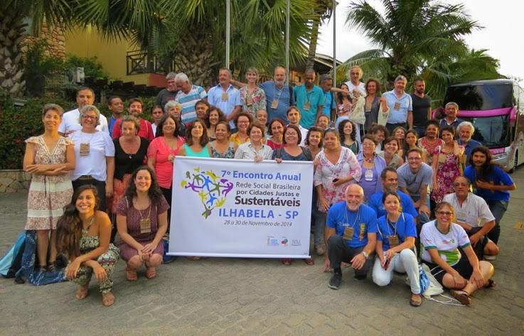 Observatório participa do Encontro Nacional da Rede Brasileira por Cidades Justas e Sustentáveis