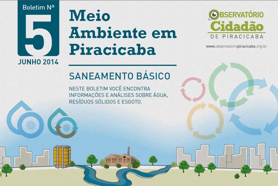 Dia Mundial do Meio Ambiente: Observatório lança avaliação sobre temas ambientais em Piracicaba
